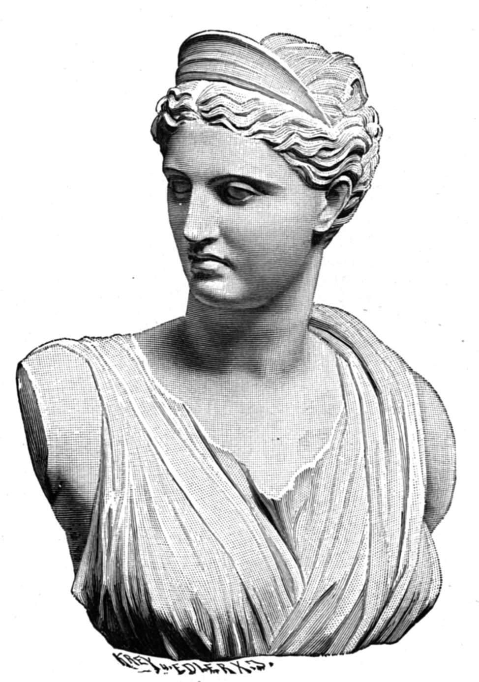 Ancient Gaia Statue 12 ancient lunar luminaries in 2020 | greek goddess statue