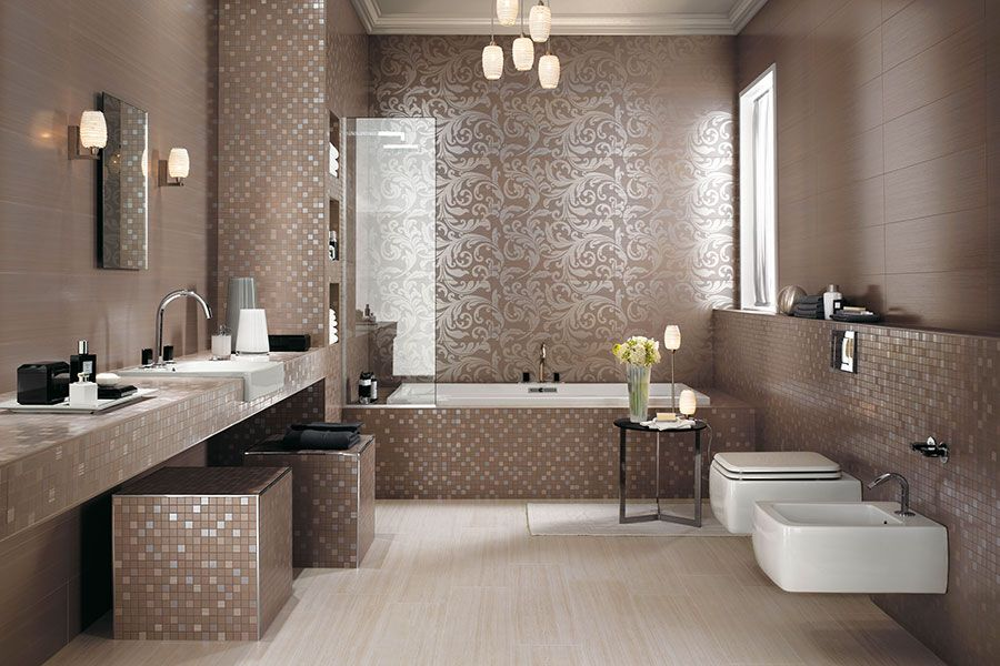 Brilliant Bad Fliesen Stil Badezimmer Badezimmereinrichtung