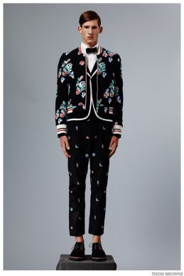 Thom Browne Embraces Beach Ready Fashions + Nautical Styles for Spring 2015 Collection image