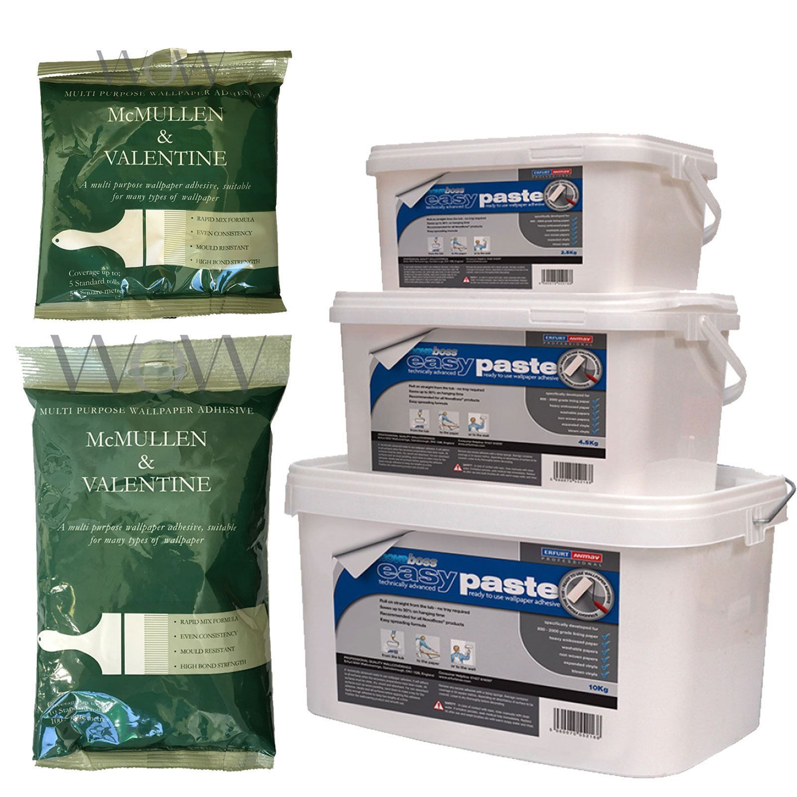 Wallpaper Adhesive Paste  Easy To Mix Packet 5 10