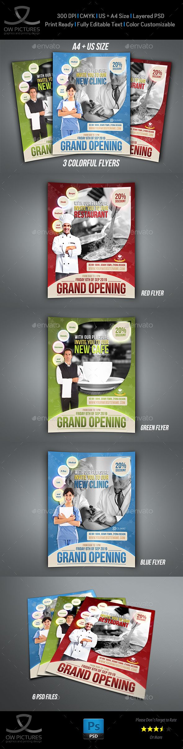 Grand Opening Flyer Template  Flyer Template Grand Opening And