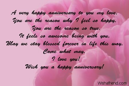 A very happy anniversary to | Anniversary Messages | Pinterest ...