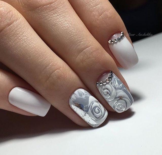 Pin de Fisher en Нейл-арт | Pinterest | Arte uñas, Diseños de uñas y ...