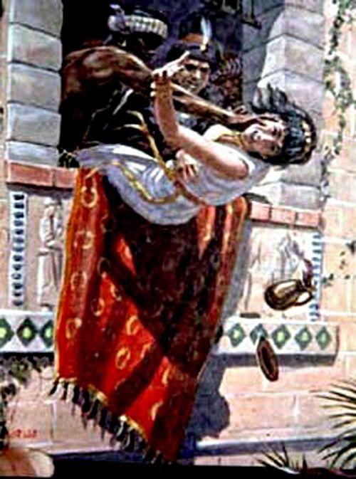 JESEBELL'S DEATH - I KINGS 9:3-5