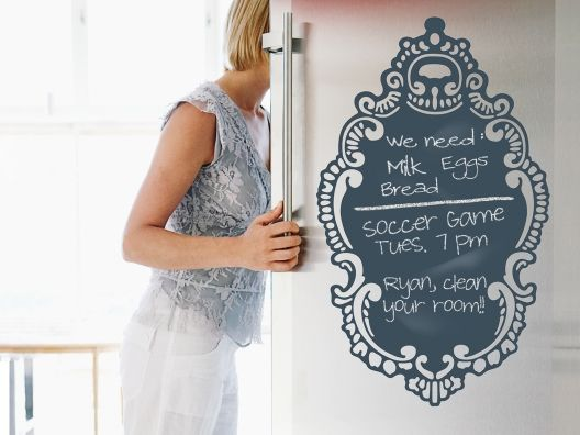 Rococo Chalkboard Decal from Julie Morgenstern on OpenSky