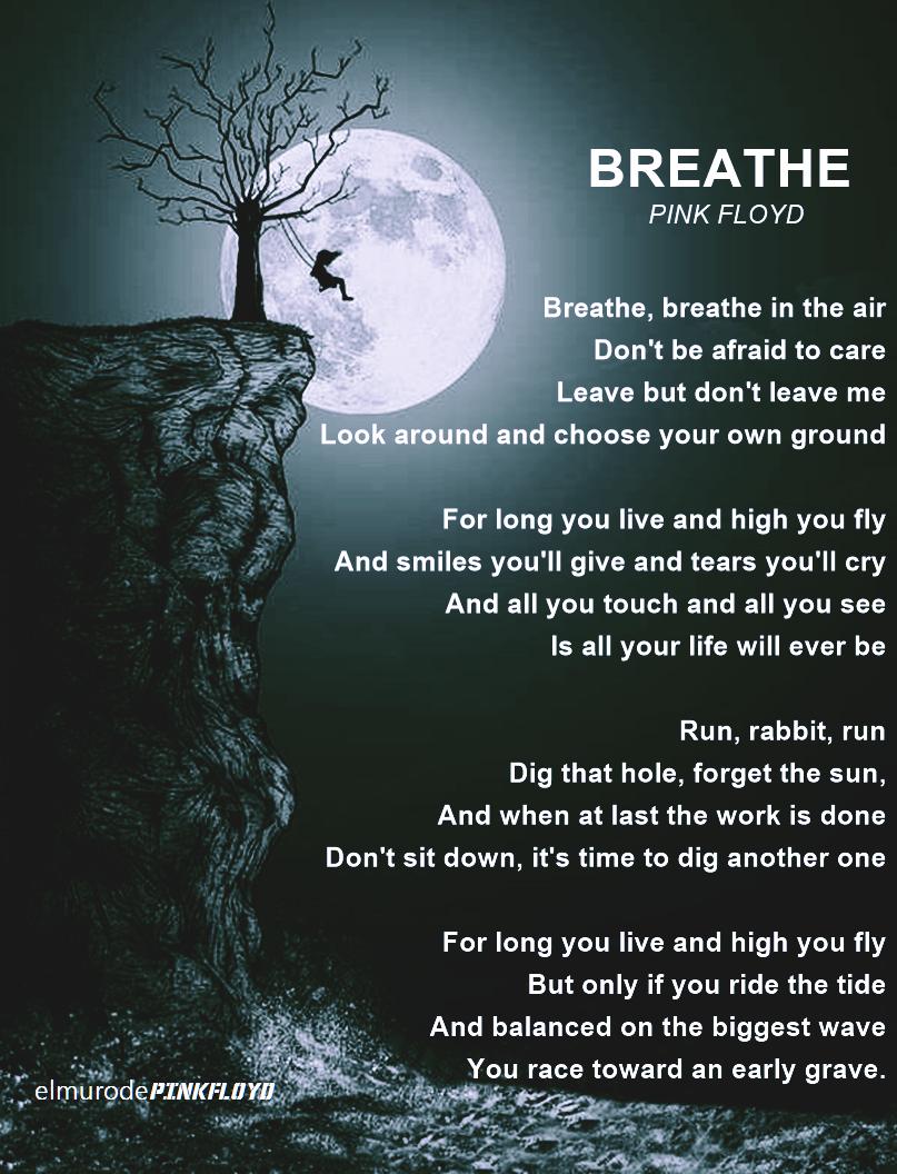 Pink Floyd Breathe | Pink Floyd in 2019 | Breathe pink floyd