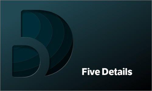 Jon Hicks shares the design process behind the Five Details Logo