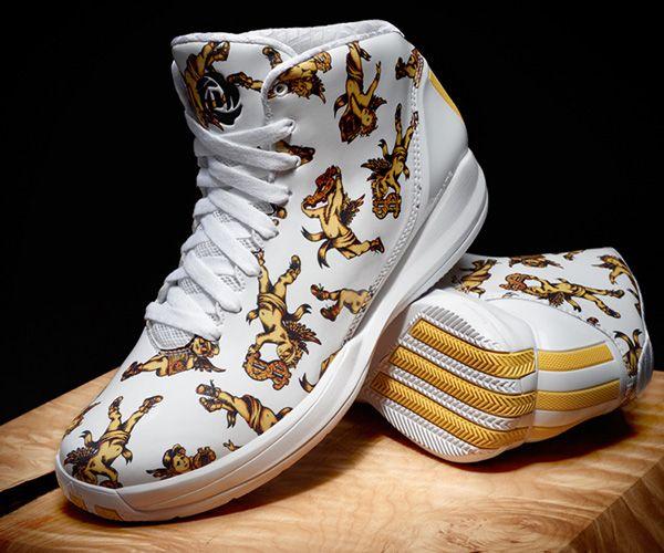 2d8cafbdb7dd Jeremy Scott x Derrick Rose   Adidas D Rose 3.5 High-Top Sneaker ...