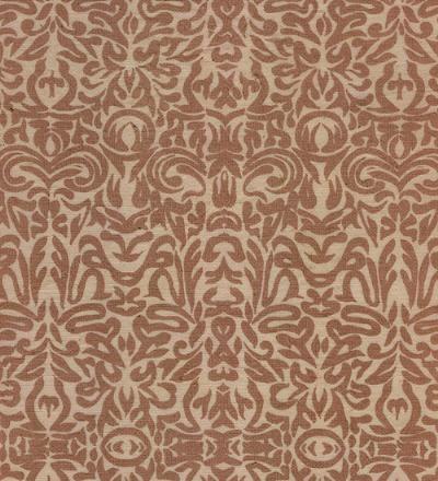 Tribal Print Paper- Brown Print on Natural Paper