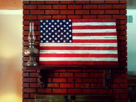 a5148ed508b Rustic Vintage Wood American Flags Patriotism On Etsy - Rustic ...