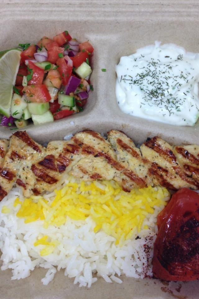 Caspian Kabob Is Portlands Only Persian Food Cart Food