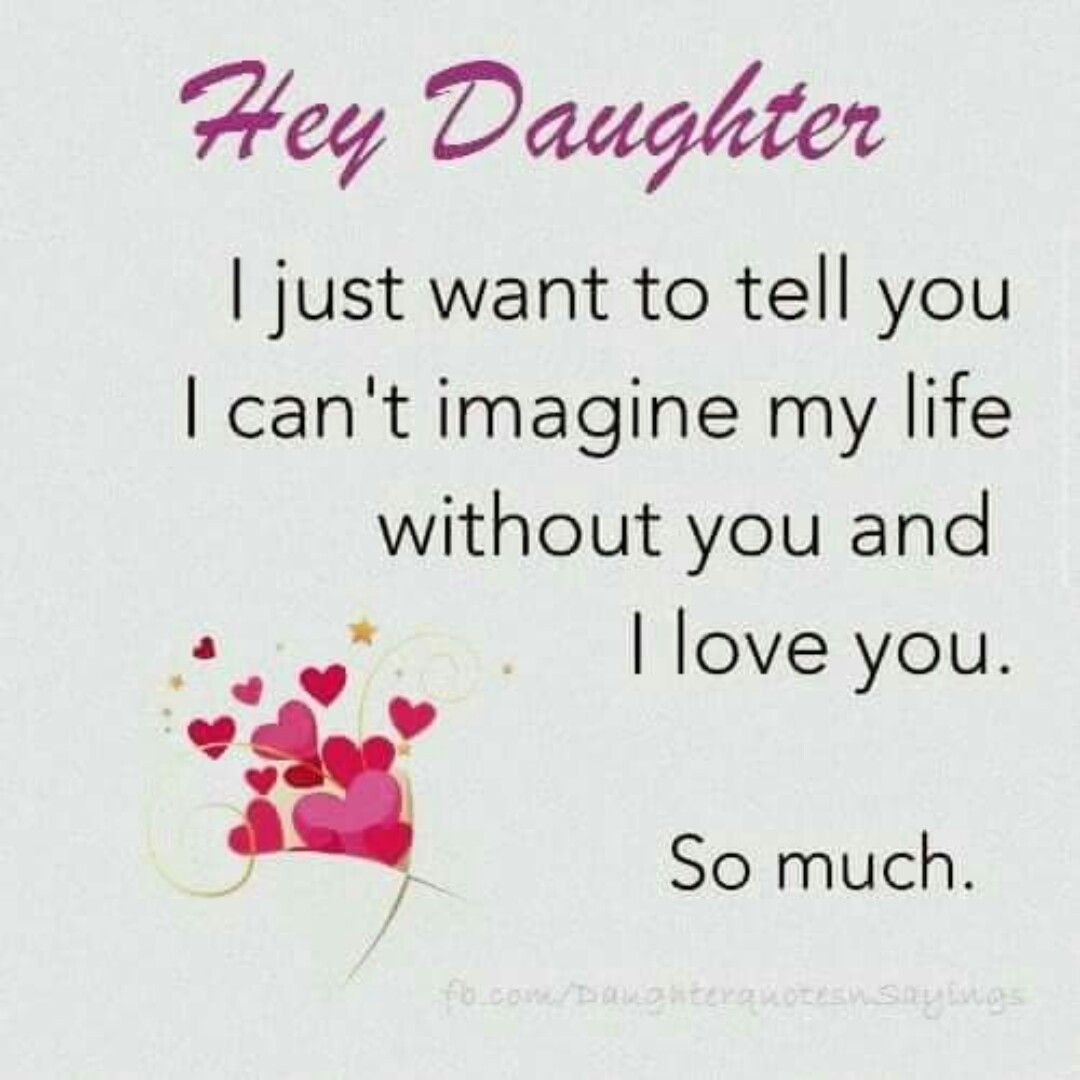 I Love You Brooklyn And Addison Daughters Are The Best Daughter