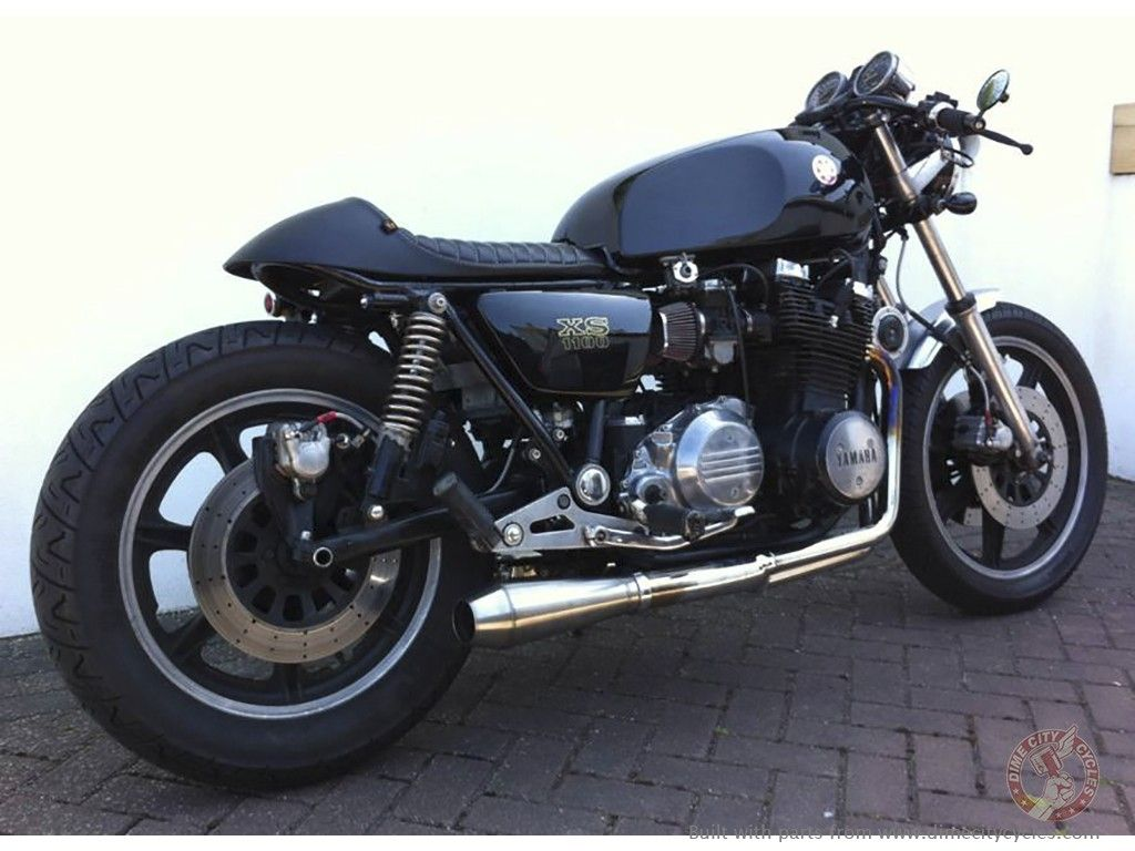 paul's 1980 yamaha xs1100   cafe racer   pinterest   motorbikes