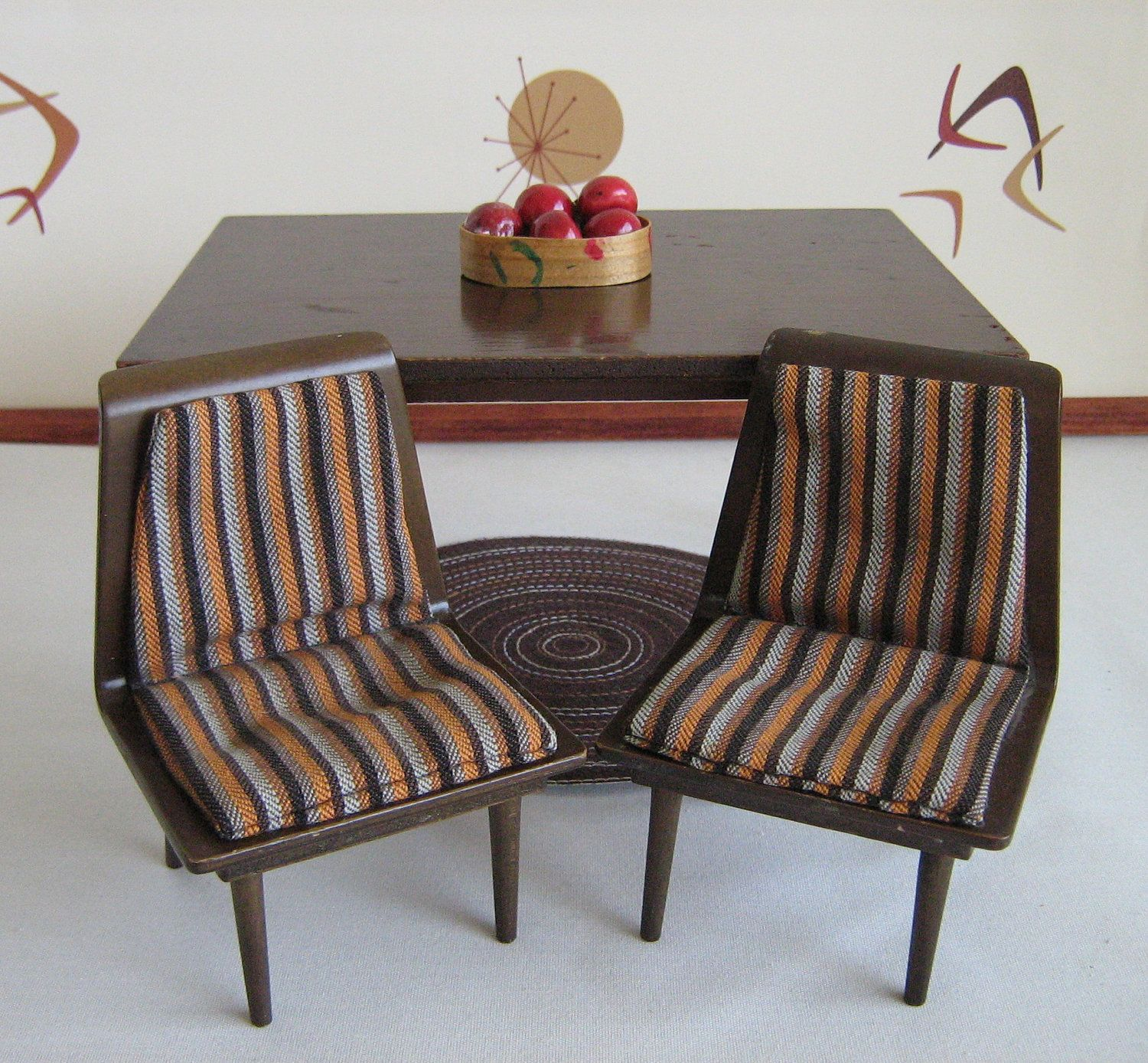 mattel modern mid century doll furniture room for young ones