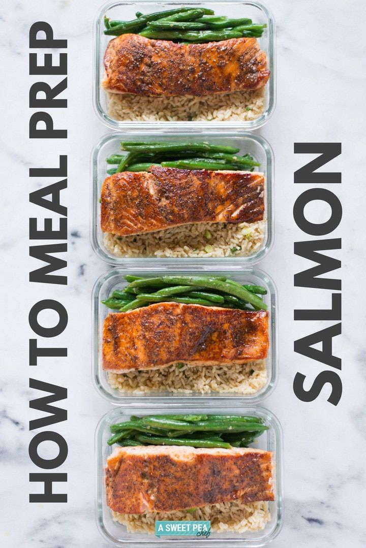 How To Meal Prep Salmon