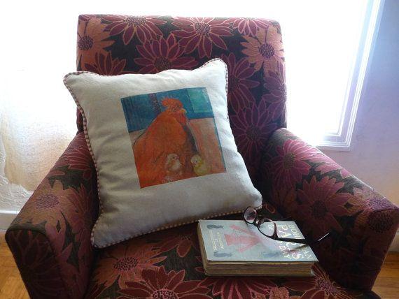 Petaluma Pillows  Handmade Unique Fine Art by Studioshannon, $95.00