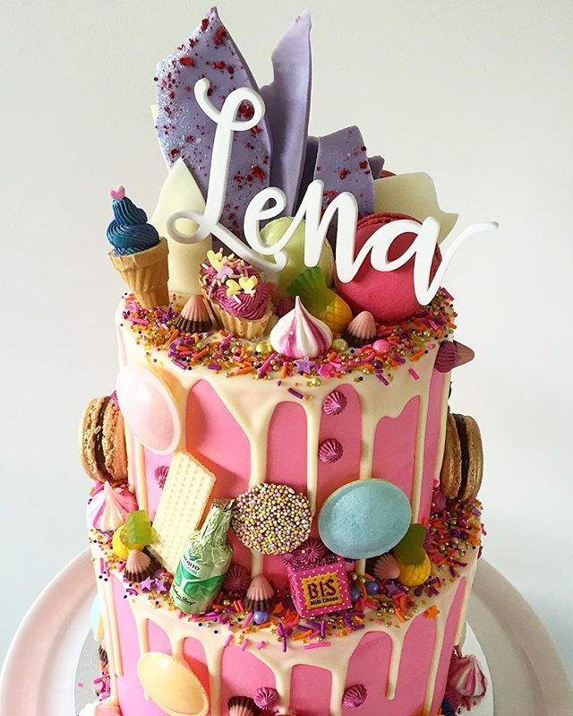 Cookies And Cream Cake Happy Birthday Lena Never Too Old For A Like This Topper By Communicakeit
