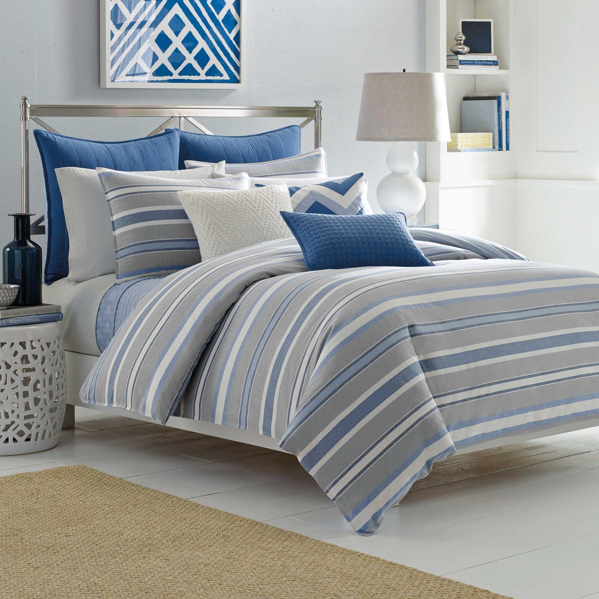 Nautica Sedgemoor Duvet Cover Set In Grey Bedding Sets Comforter Sets Bedding Sets Uk