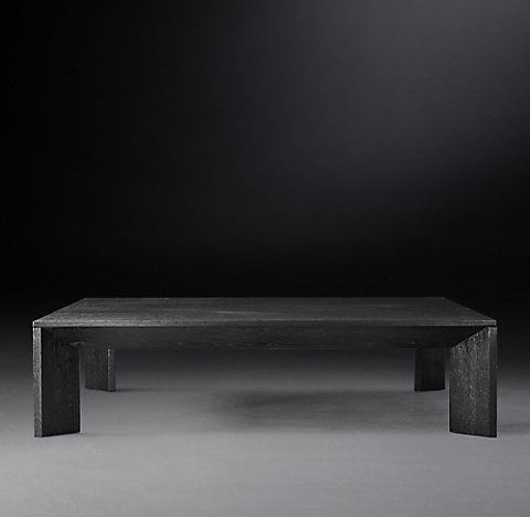 60 Inch Square 2000 Coffee Tables Rh Coffee Table Square Coffee Table Table