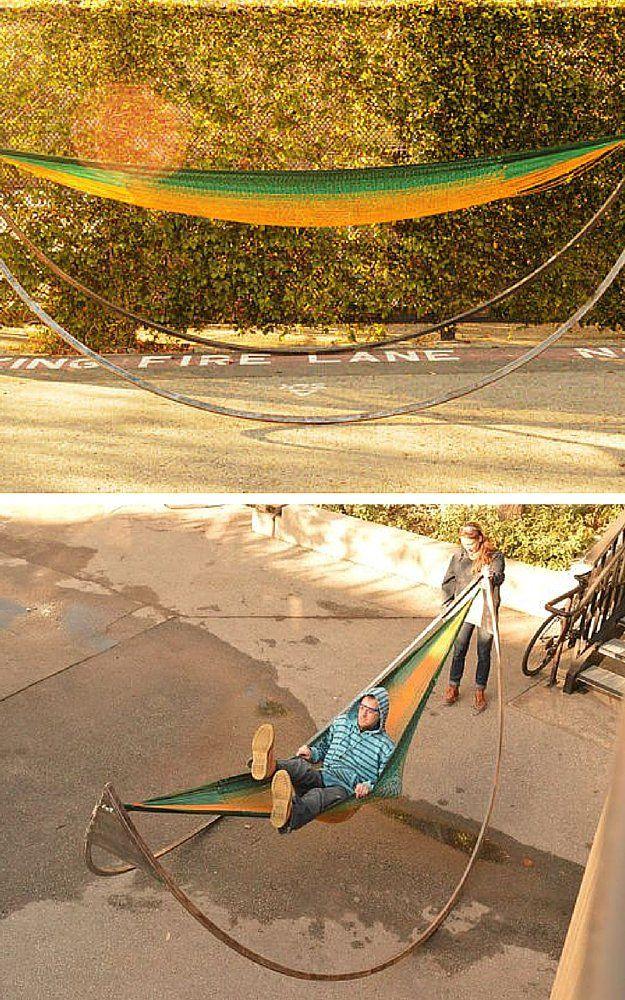 diy hammock stands | hängematte und gärten, Attraktive mobel