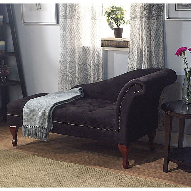 Black Storage Chaise 238 Victorian Furniture Http Amzn To 2azufev Storage Chaise Lounge Storage Chaise Chaise Lounge