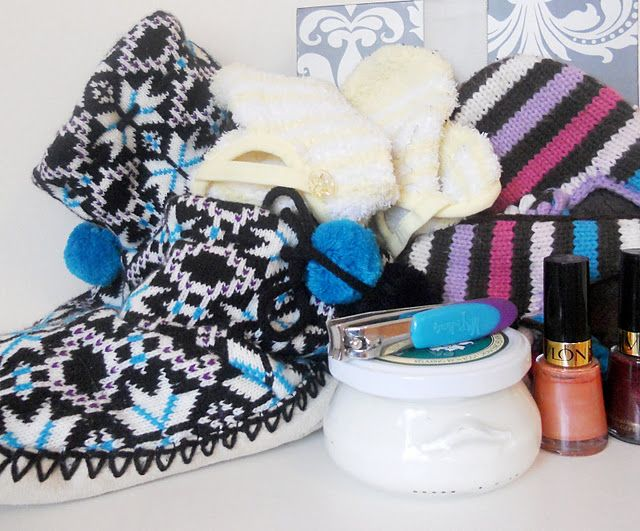 "Rest your ""soles"" gift basket. The poem that goes with this is so cute!"