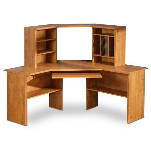 South Shore Furniture Prairie Collection Corner Desk, Country Pine By South  Shore Furniture. $330.99. Assembled Corner Desk With Hutch Measures 62  Inches ...