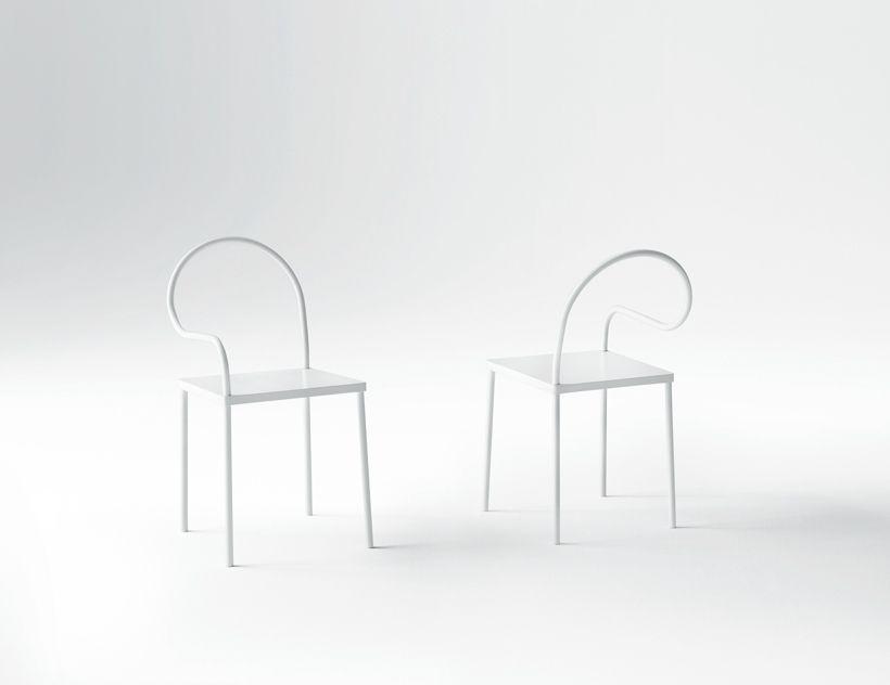 Nendo has designed a metal furniture collection for Italy's Desalto.