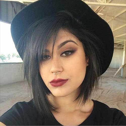 36-Short Asymmetrical Haircuts 2017