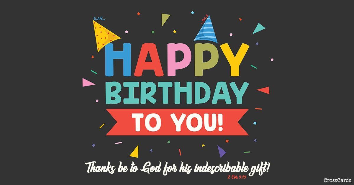 Happy Birthday To You Ecard Online Card Happy Birthday To You Birthday Ecards Happy Birthday Ecard
