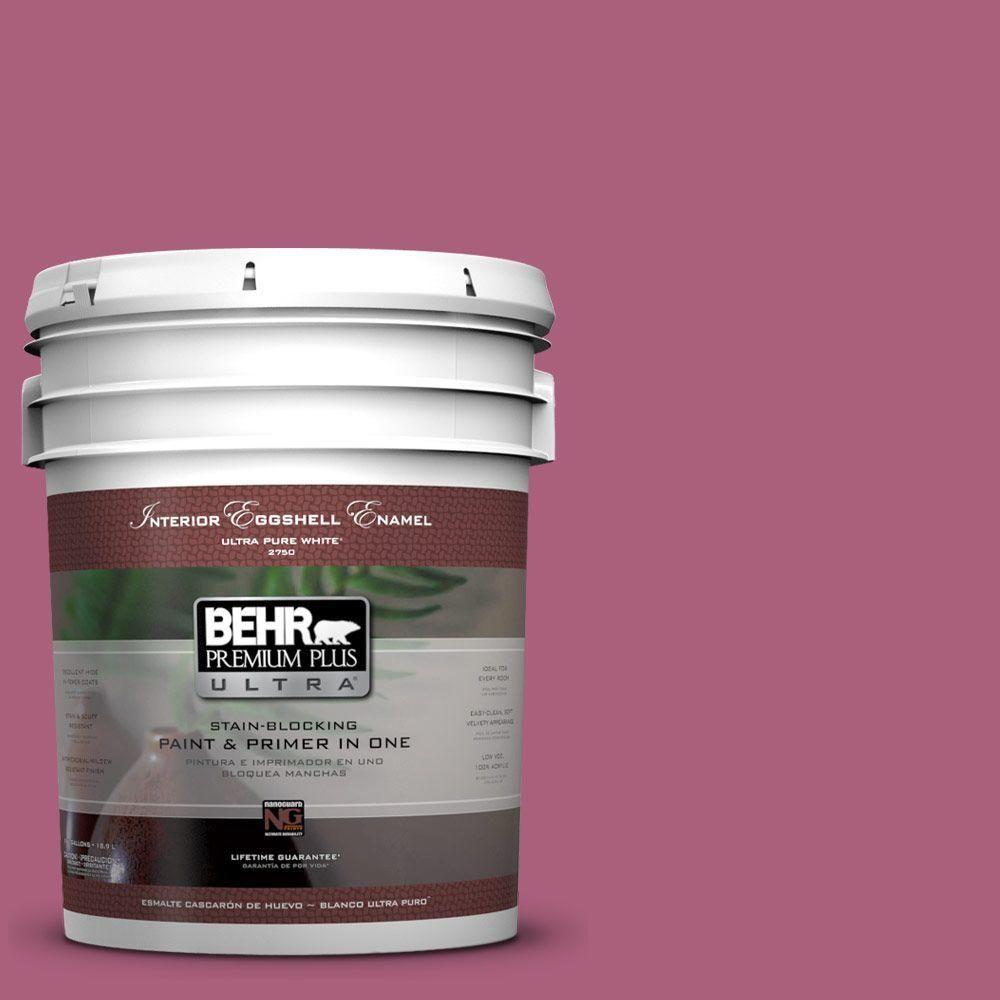 BEHR Premium Plus Ultra 5-gal. #T13-1 Daah-Ling Eggshell Enamel Interior Paint