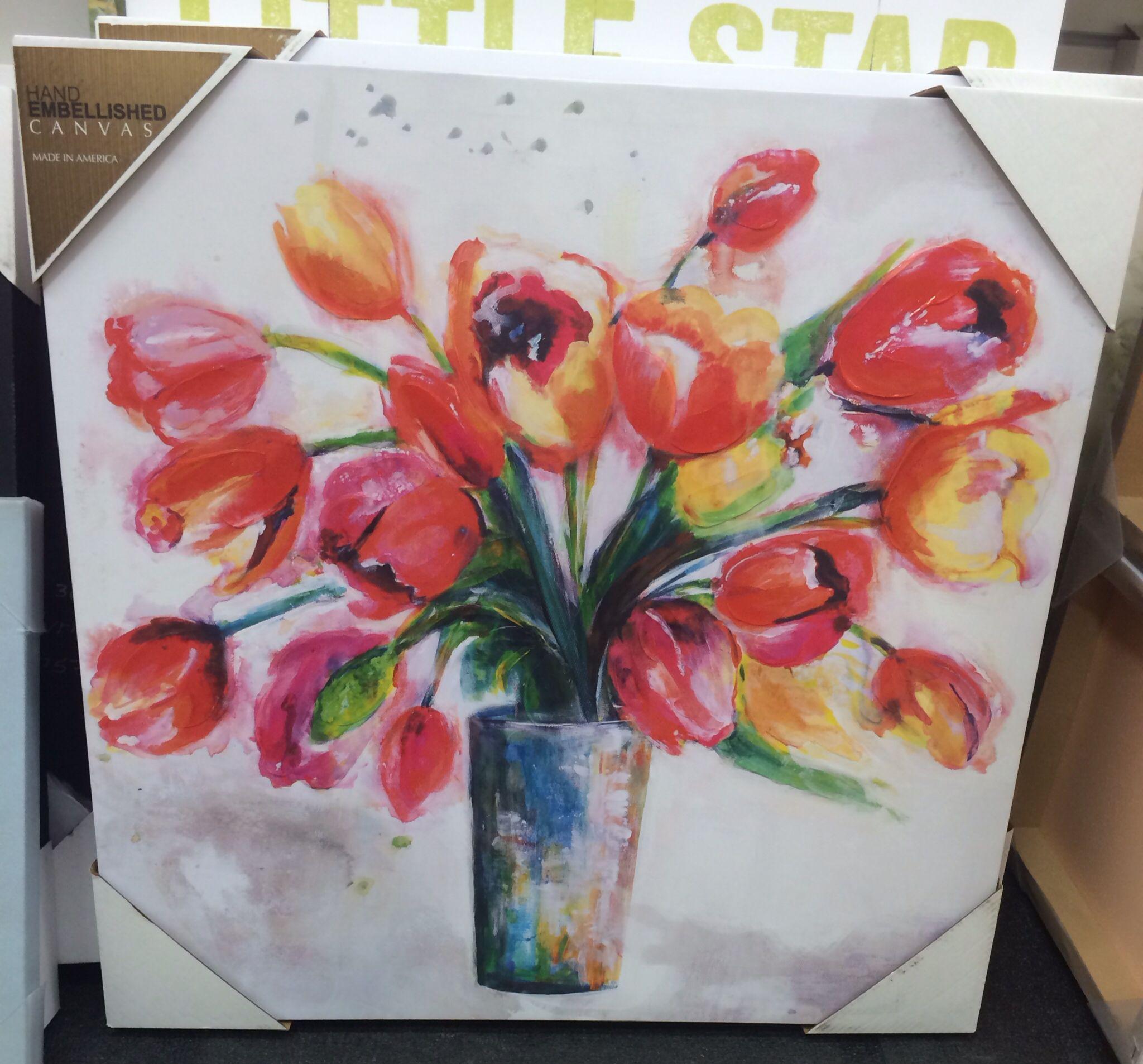 Art at home goods canvas art art spring decor