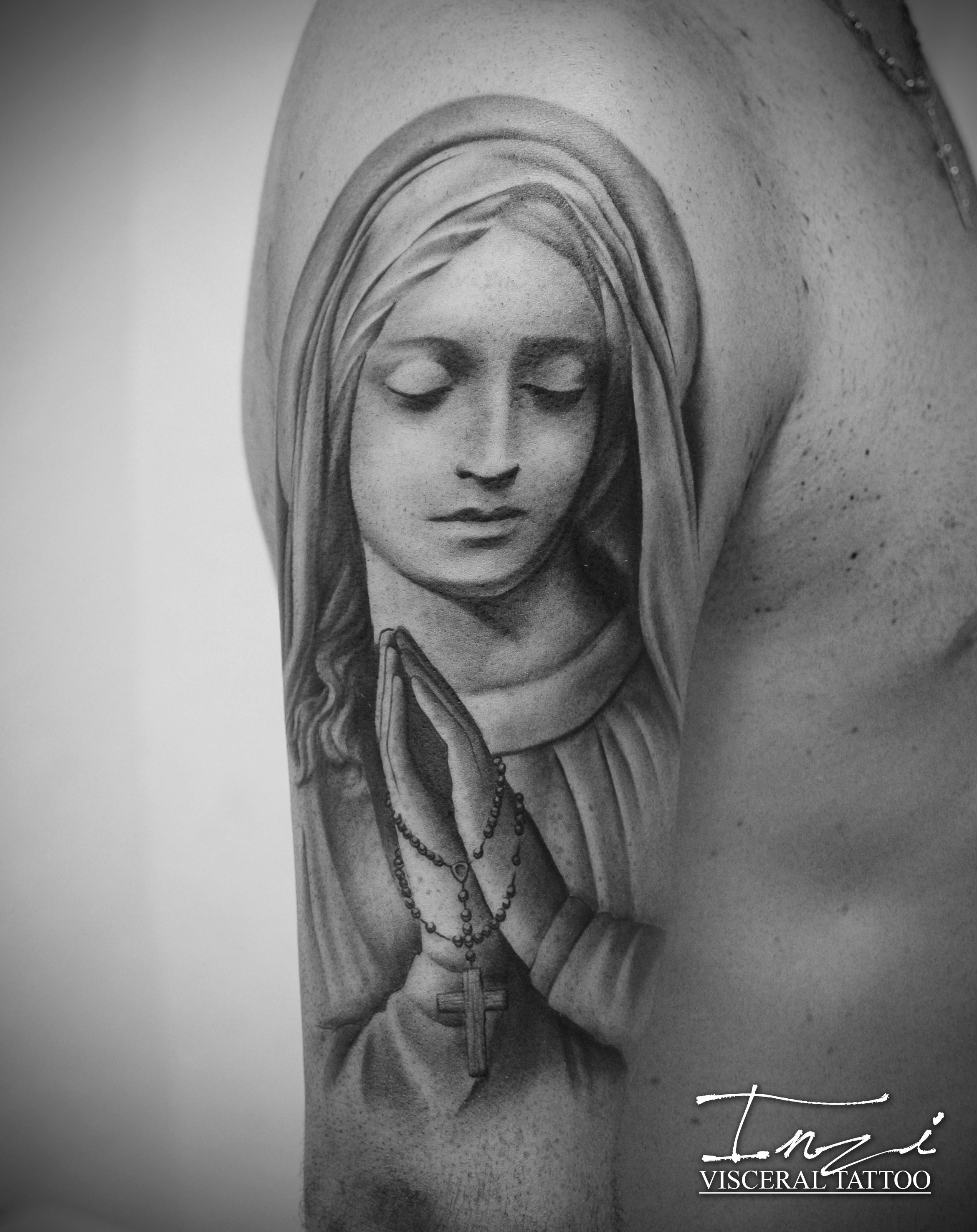 Santa Maria Tattoo Vierge Mary Tattoos Maria Tattoo Mary
