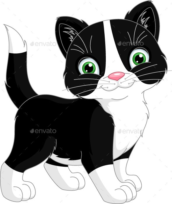 4a6fe027671 Download Free Graphicriver Kitten  animal  cartoon  cat  clipart  isolated   kitten  pet  vector  whitebackground