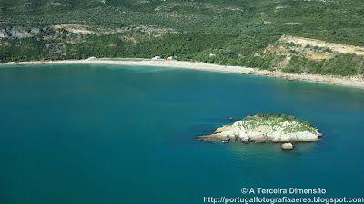 A Terceira Dimensão - Fotografia Aérea: Praia da Arrábida