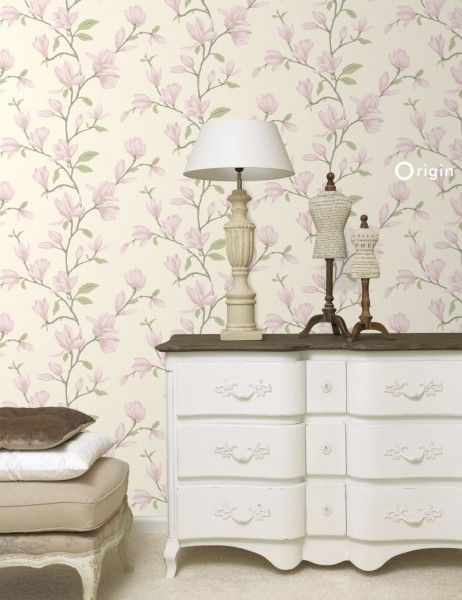 347050 wallpaper magnolia cream beige and light pink