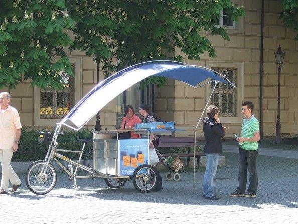 Mobiler Infostand © Velocab