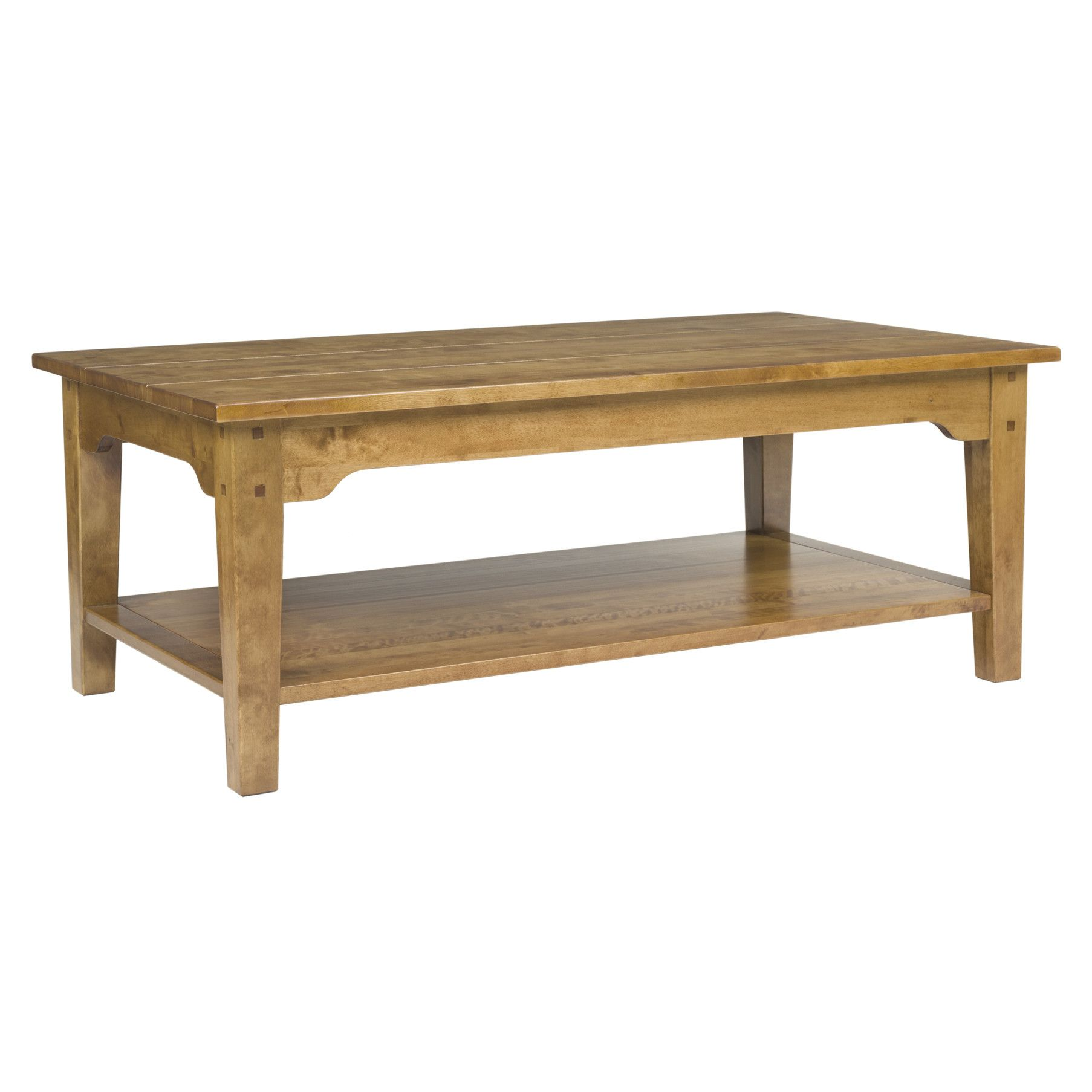 Made to order furniture Garrat Honey Rectangular Coffee Table