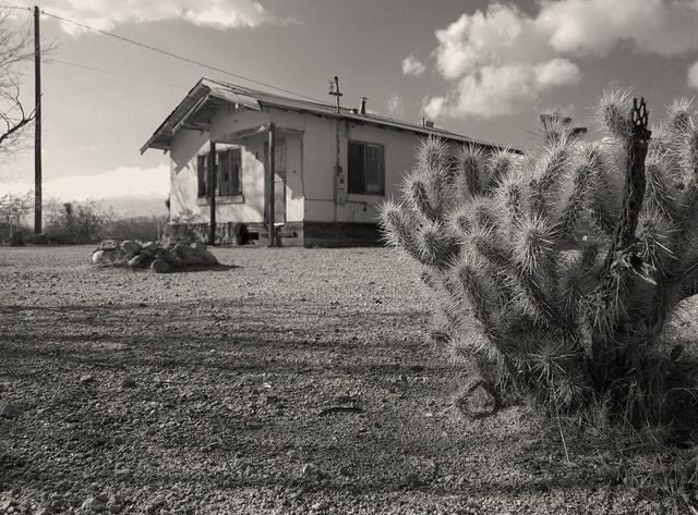 Abandonment: Neglected House - Mojave, California