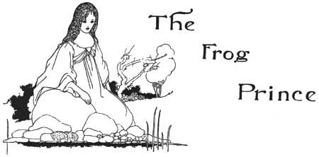 Charles Robinson's Frog Prince from The Big Book of Fairy