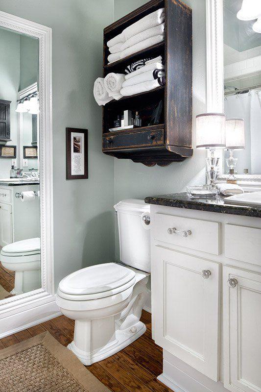 17 Brilliant Over The Toilet Storage Ideas Toilet Storage