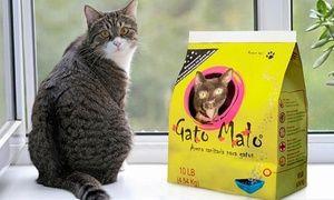 30 kg de arena sanitaria para gatos Gato Malo con 41% off