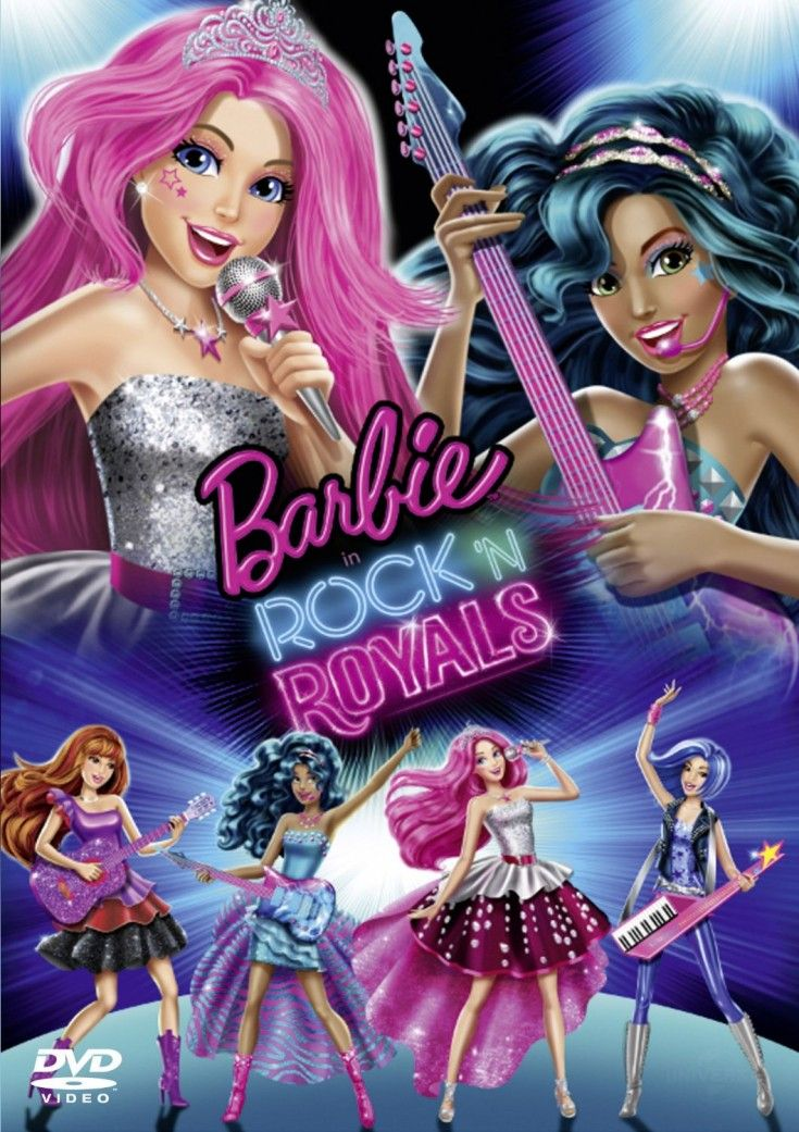Barbie Rock N Royals Giveaway Barbie Movies Barbie Free