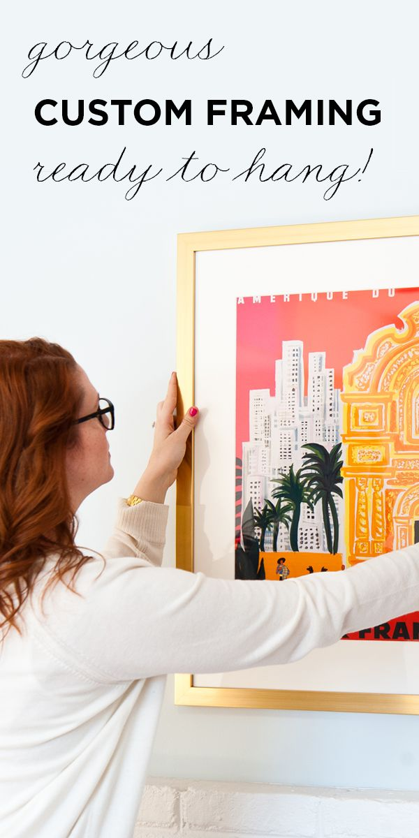 What would you frame if it were super easy and affordable? If you ...