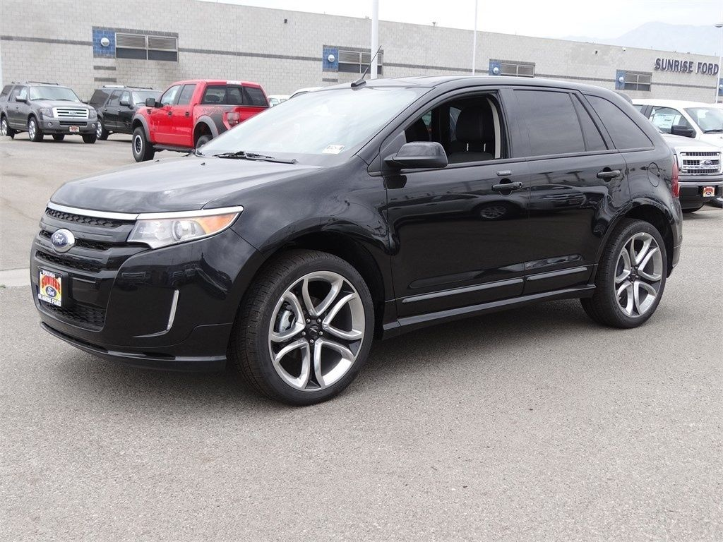 2014 Ford Edge Sport AWD Tuxedo Black Ford edge, Ford