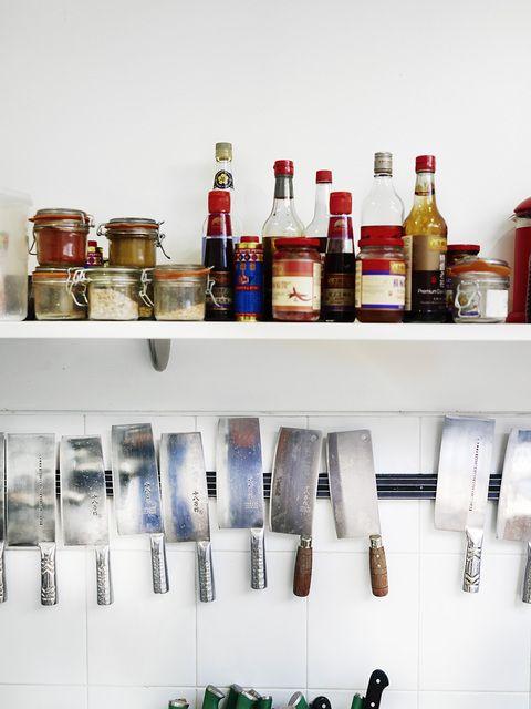 Food on Display.