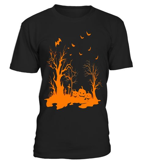"""# Spooky Halloween Forest cemetery w/ Bats & Pumpkin T-shirt .  Special Offer, not available in shops      Comes in a variety of styles and colours      Buy yours now before it is too late!      Secured payment via Visa / Mastercard / Amex / PayPal      How to place an order            Choose the model from the drop-down menu      Click on """"Buy it now""""      Choose the size and the quantity      Add your delivery address and bank details      And that's it!      Tags: Do you love…"""