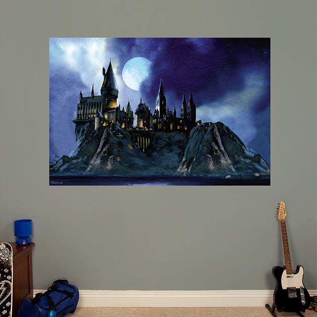 Fathead Harry Potter Hogwarts Castle Peel And Stick Wall Mural U0026 Reviews |  Wayfair