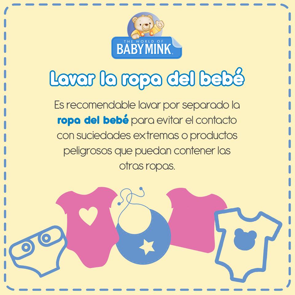 #infografía #ropa #bebé #lavar