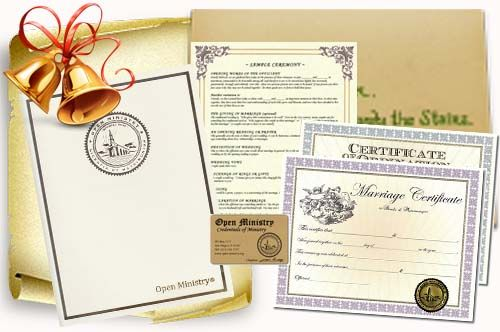 Get Ordained And Find Officiant Marriage Laws By State